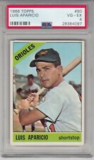 1966 Topps Luis Aparicio Baltimore Orioles SS #90 Vintage PSA 4