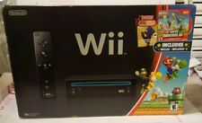 Nintendo Wii Super Mario Bros with Games Bundle