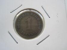 1 Pfennig 1889 D , Kaiserreich Deutsches Reich