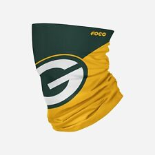 Green Bay Packers Big Logo Gaiter Scarf NFL Licensed Face Head Neck Covering new