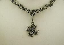 Claudia Agudelo Four Leaf Clover Pendant Necklace