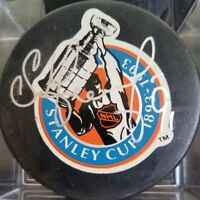SERGEI FEDOROV SIGNED STANLEY CUP PUCK OFFICIAL GAME PUCK (please read info)
