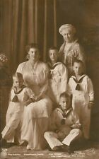 Ansichtskarte Friedrich, Cecille, Wilhelm, Louis Ferdinand, Kaiserin Auguste