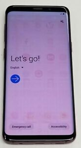 Samsung Galaxy S9 G960U1 Purple Unlocked Good Condition Android Smartphone Look