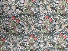 William Morris Golden Lily 100 Cotton Floral Fabric 2 Metres Length