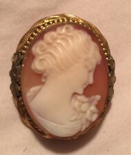 LOVELY VINTAGE CAMEO COMBO BROOCH/PENDANT
