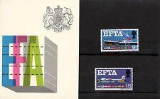 GB - 1967 - Presentation Pack - EFTA