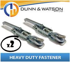 Heavy Duty Over Center Fastener x2 (Lock Latch handle) Trailer Tray (Weld On)