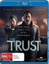The Trust (Blu-ray) Crime Drama Thriller Nicolas Cage, Elijah Wood, Sky Ferreira