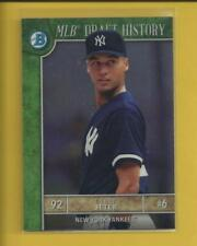 Derek Jeter 2017 Bowman Chrome MLB Draft History Insert Card # MLBD-DJ Yankees