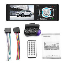4.1'' Single 1DIN Car Stereo MP5 MP3 Player Bluetooth FM Radio USB AUX SD
