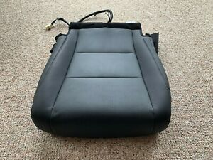 '16 Lexus RX350 Passenger Bottom Perforated Leather Seat Cover Black Genuine OEM