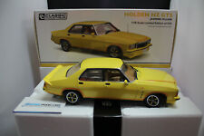 CLASSIC 1/18 HOLDEN HZ MONARO GTS 4dr V8 SEDAN  JASMINE  YELLOW  #18714