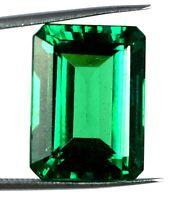Emerald Cut 33.80 Ct Colombian Emerald 100% Natural Gemstone AGI Certified H2024