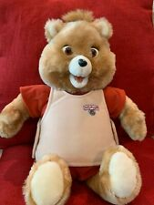 Vintage 1985 Original TEDDY RUXPIN Storytelling Talking Plush Bear WORKS!!