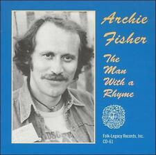 Audio CD: The Man with a Rhyme, Archie Fisher. Good Cond. . 010146006125