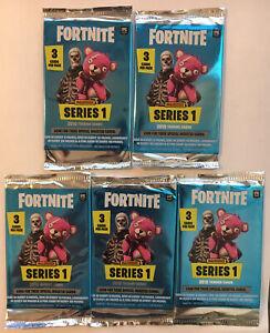 X5 Panini Fortnite Series 1 Factory Sealed Pack Lot 3 Cards Per pack/