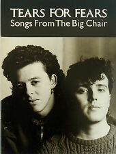 Tears For Fears-Songs From The Big Chair-1985 Sheet Music-Folio-PVG-Rare!