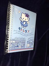 "New 2002 Angel Hello Kitty Mini Paris Notebook 3.5"" x 5"" 35 Sheets"