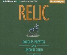 Relic by Douglas Preston & Lincoln Child  (Unabridged Audiobook on CDs)
