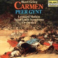 Leonard Slatkin - Bizet Carmen Suite Grieg Peer Gynt Suite [CD]