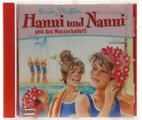 Hanni und Nanni 24 und das Wasserballett Europa logo Hörspiel CD