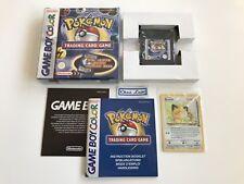 Pokémon Trading Card Game - Nintendo Game Boy Color GBC - PAL NFHUG