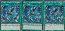 YUGIOH 3 X MAJESTY WITH EYES OF BLUE  LCKC-EN031 LEGENDARY COLLECTION  KAIBA