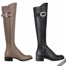 Solid Over Knee Casual Women's Boots