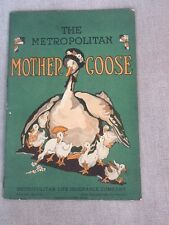 1930'S MOTHER GOOSE BOOK; MET LIFE ADVERTISING PIECE