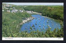 View of Boats in Solva Harbour. Stamp/Postmark - 1986