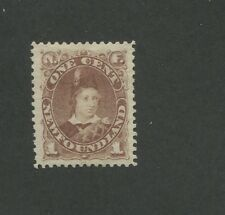 1880 Newfoundland Edward Prince of Whales 1 Cents Postage Stamp #41