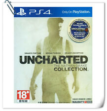 PS4 Uncharted The Nathan Drake Collection ENGLISH / 秘境探險 中英文版 SONY Action SCE