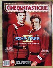 Cinefantastique Magazine volume 22 #5 (1992) Star Trek Stephen King Evil Dead 3