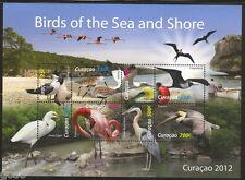 Curacao  2012   Birds of the sea     m/s     postfris/mnh us