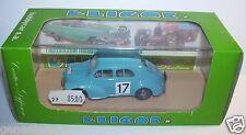 ELIGOR RENAULT 4CV BLEU CLAIR N°17 1954 TOUR DE FRANCE REF 1107 1/43 IN BOX