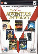 Viva Adventure Anthology (PC, Viva Media, Only Syberia II and Black Buccaneer)