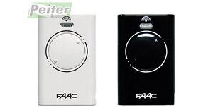 2 channel Faac XT2 868 SLH / XT2 868 SLH LR remote control - white or black