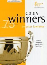 Easy Winners Treble Brass Trumpet (Book/CD) - Same Day P+P