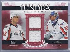 2009-10 ARTIFACTS GREEN/THEODORE TANDEMS JERSEY SP /50