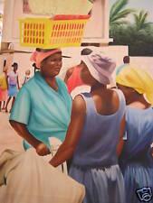Stunning Painting by Haitian Artist Philippe CLAUDE