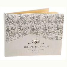 """motif rose """" Mariée et marié """" Jour du mariage Livre D'OR wg383"""