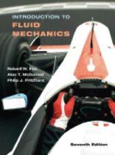Introduction To Fluid Mechanics, 7th Edition by Robert W. Fox