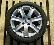 PEUGEOT 208 16 INCH ALLOY WHEEL AND TYRE 04322X 195/55/16 6J #10