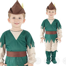Boys Robin Hood Toddler Costume for Medieval Middle Ages Fancy Dress Outfit Chil