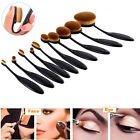 10PCS Cream Puff Cosmetic Toothbrush Shaped Makeup Foundation Brushes Egg