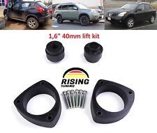 "Lift Kit for Nissan X-Trail, Rogue, Juke, Leaf, Qashqai 1,6"" 40mm strut spacers"