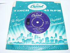 """Nat  King  Cole  Time  And The River  / Whatcha' Gonna Do 1958  7""""  Vinyl Record"""