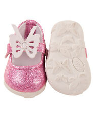 Gotz Hannah play doll Pink Glitter Butterfly Shoes 3402324 NEW