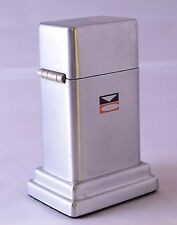 Zippo Barcroft Table Lighter with VC Logo MINT and Unused